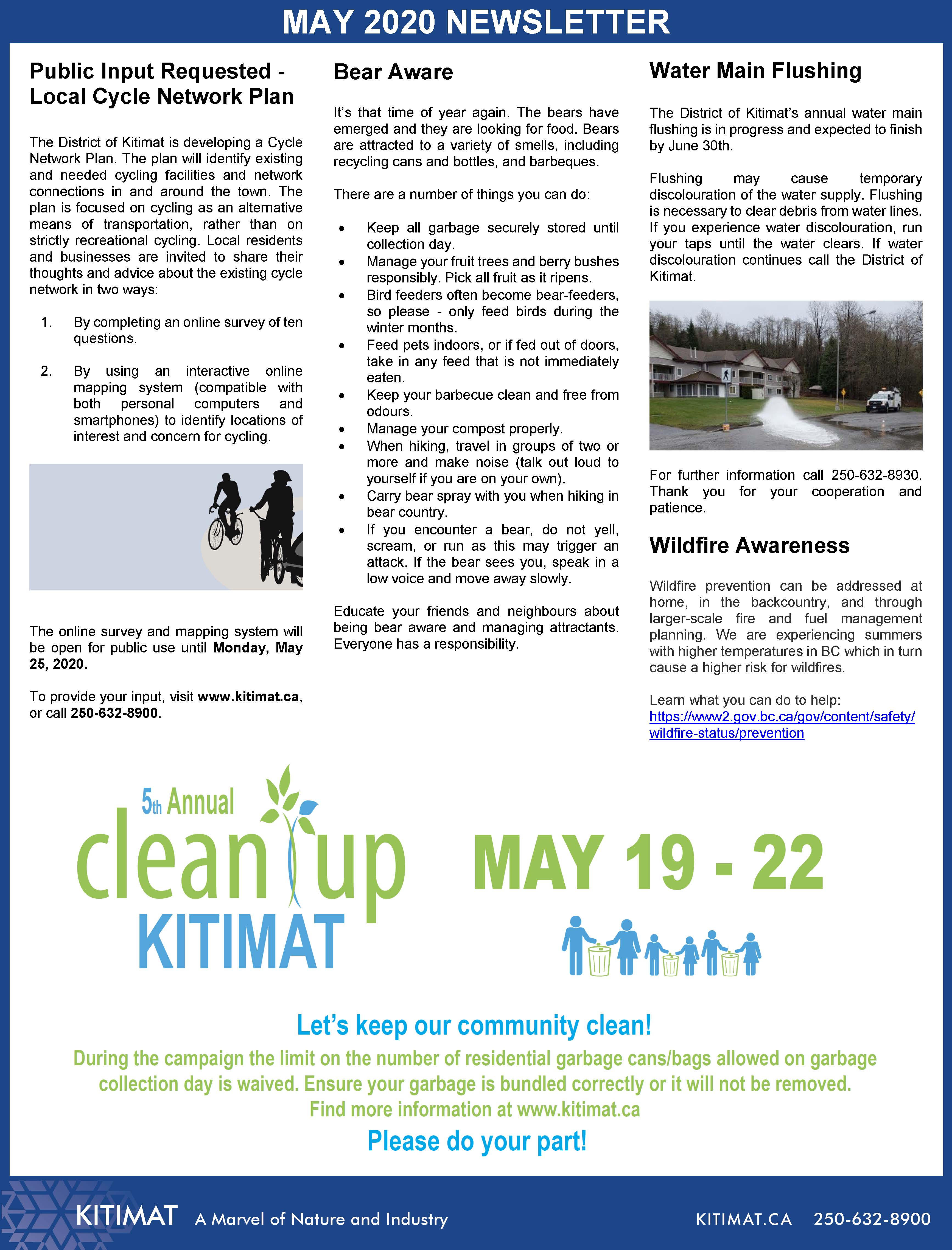 May 2020 DOK Newsletter, page 2 of 2