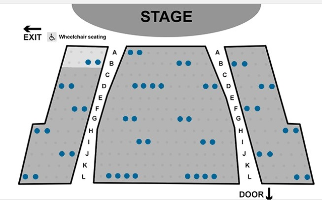Creekside Theatre fall show capacity 50