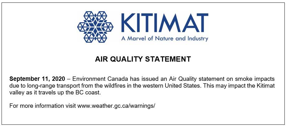 Air Quality Statement