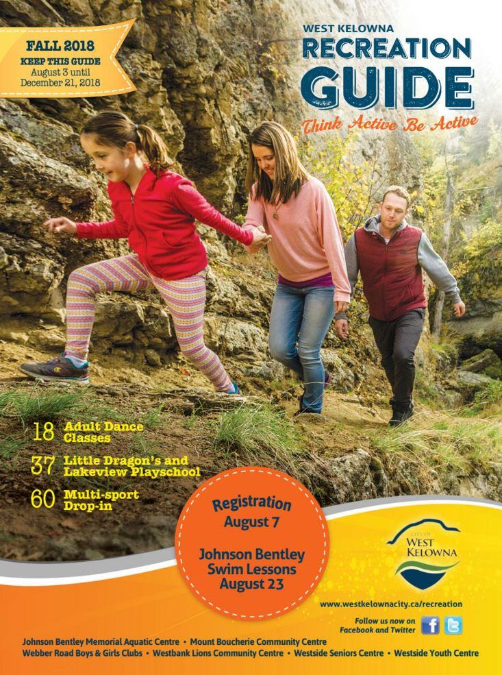 Fall Rec Guide Front Page