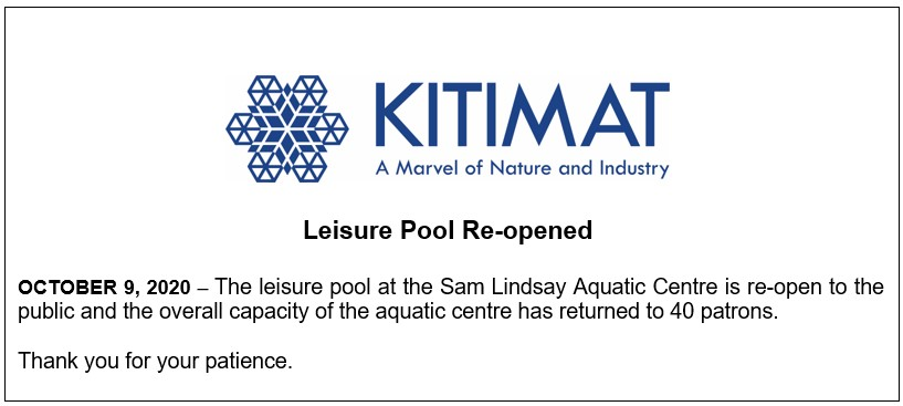 Leisure Pool Re-Opened