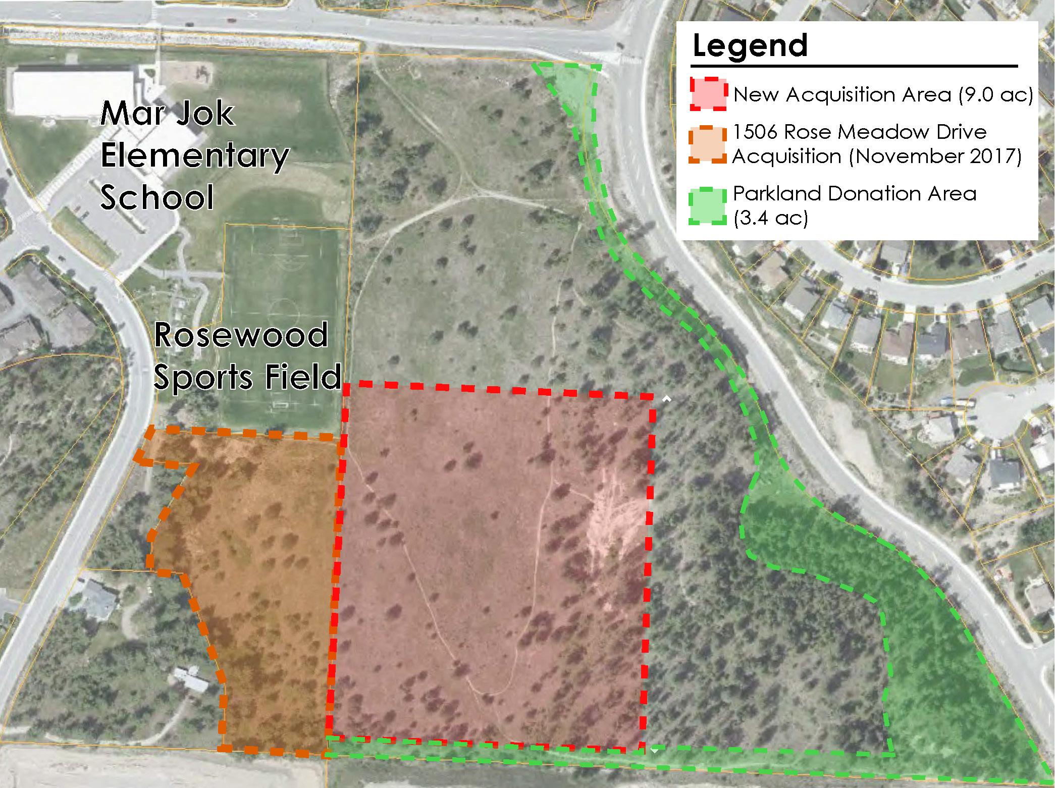 Parkland Acquisition Map