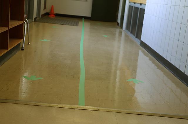Hallway Arrows