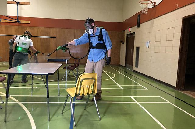 Electrostatic Sprayers - Cleaning Technology