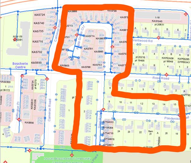 Emergency Water Shut Off Map