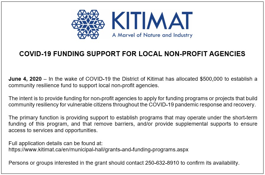 COVID-19 Funding Support for Local Non-Profit Agencies