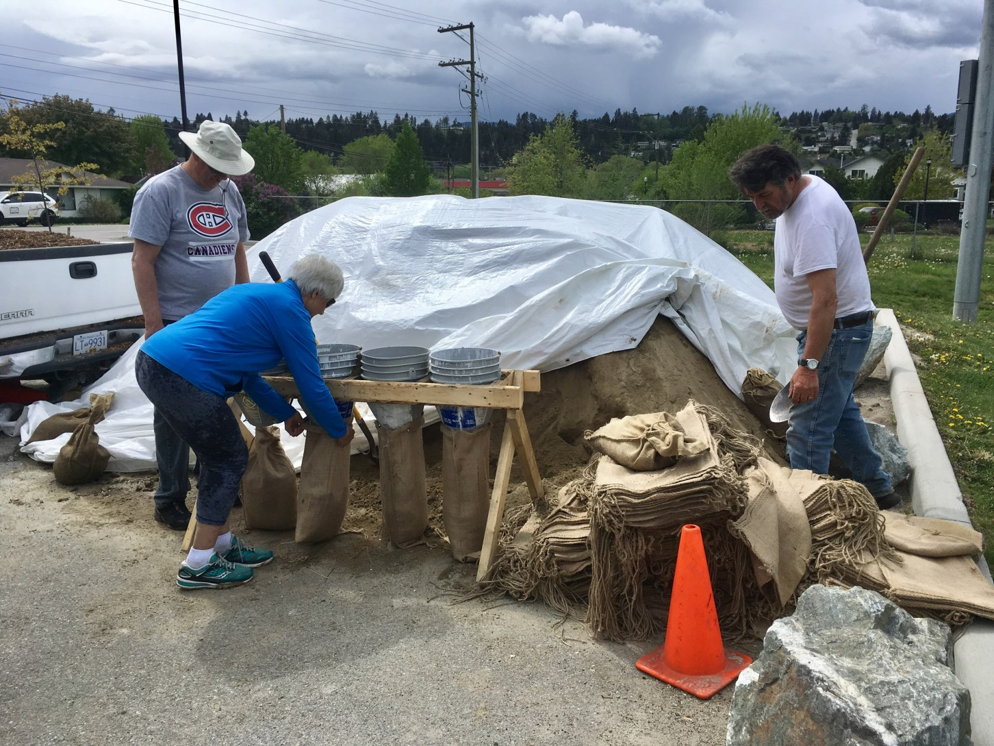 Beasley Sand bag station 2018-05-10