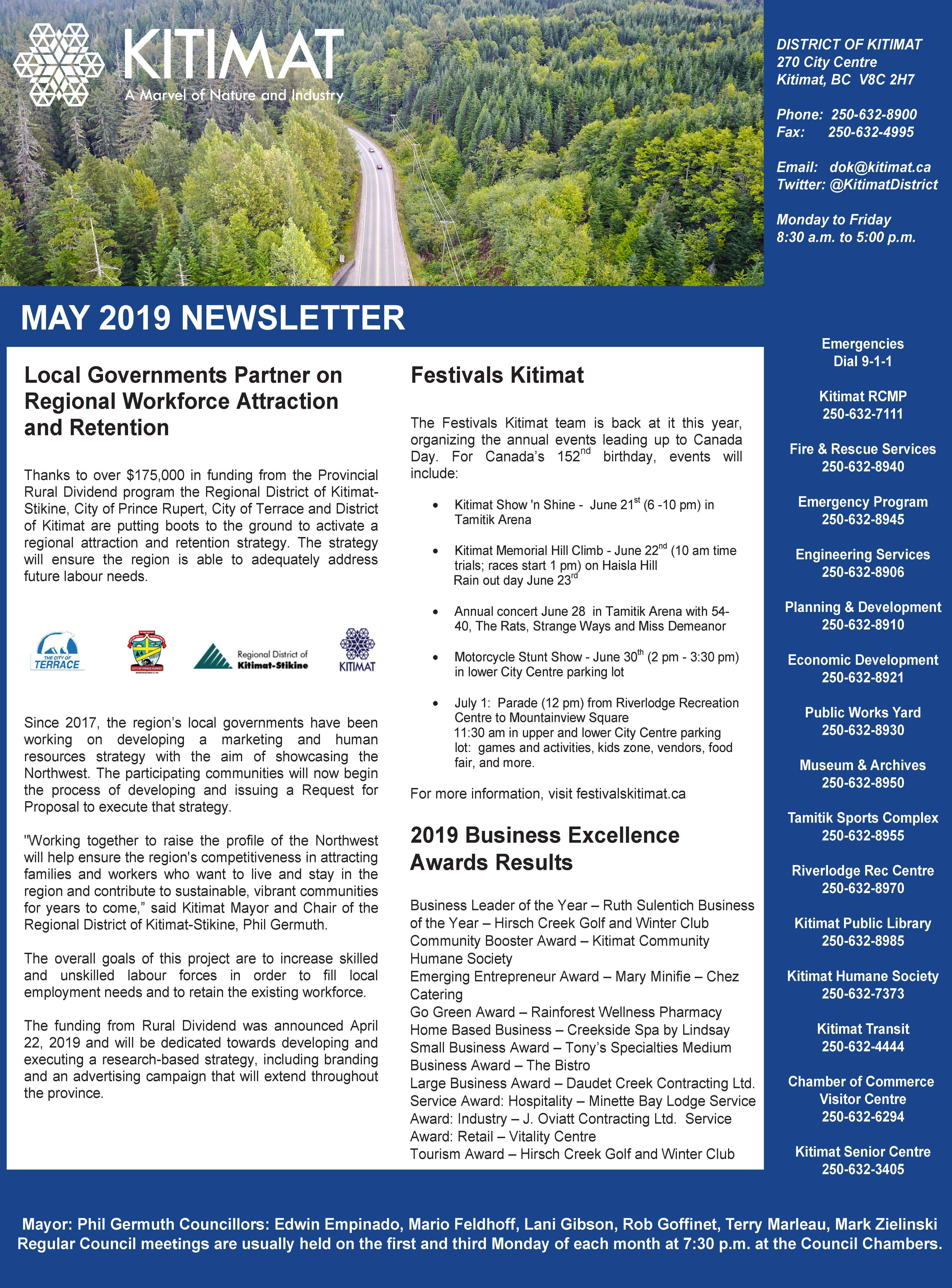 May 2019 DOK Newsletter