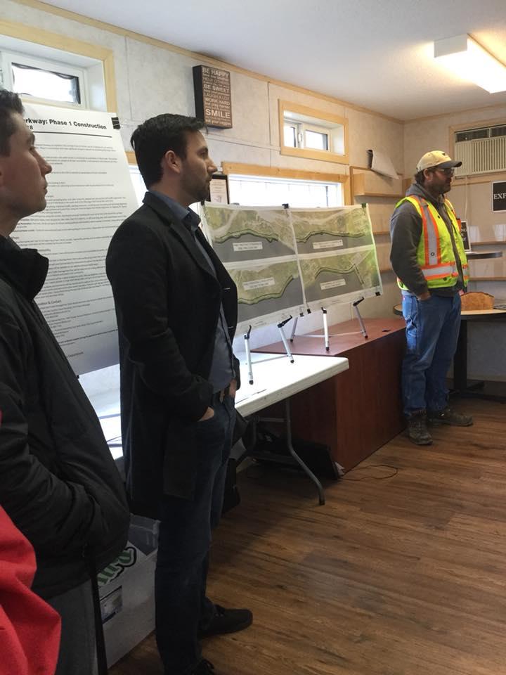 Pelmewash Parkway project team