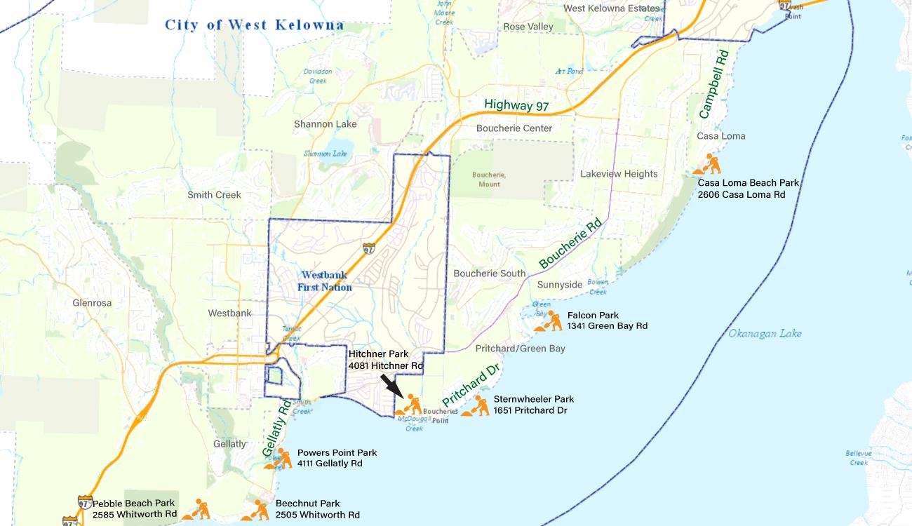 Sandbag-Locations-Map