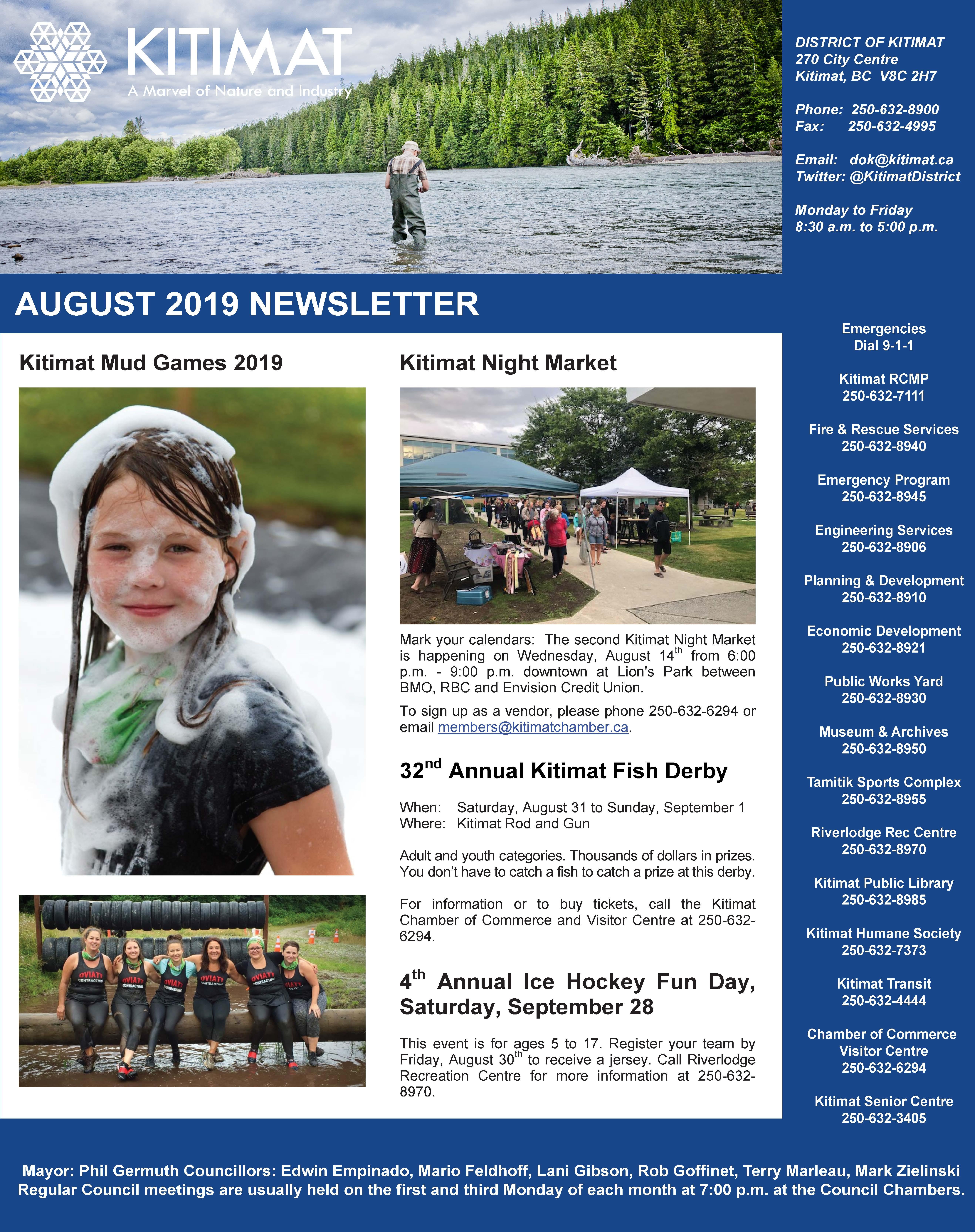 Aug 2019 DOK Newsletter pg 1