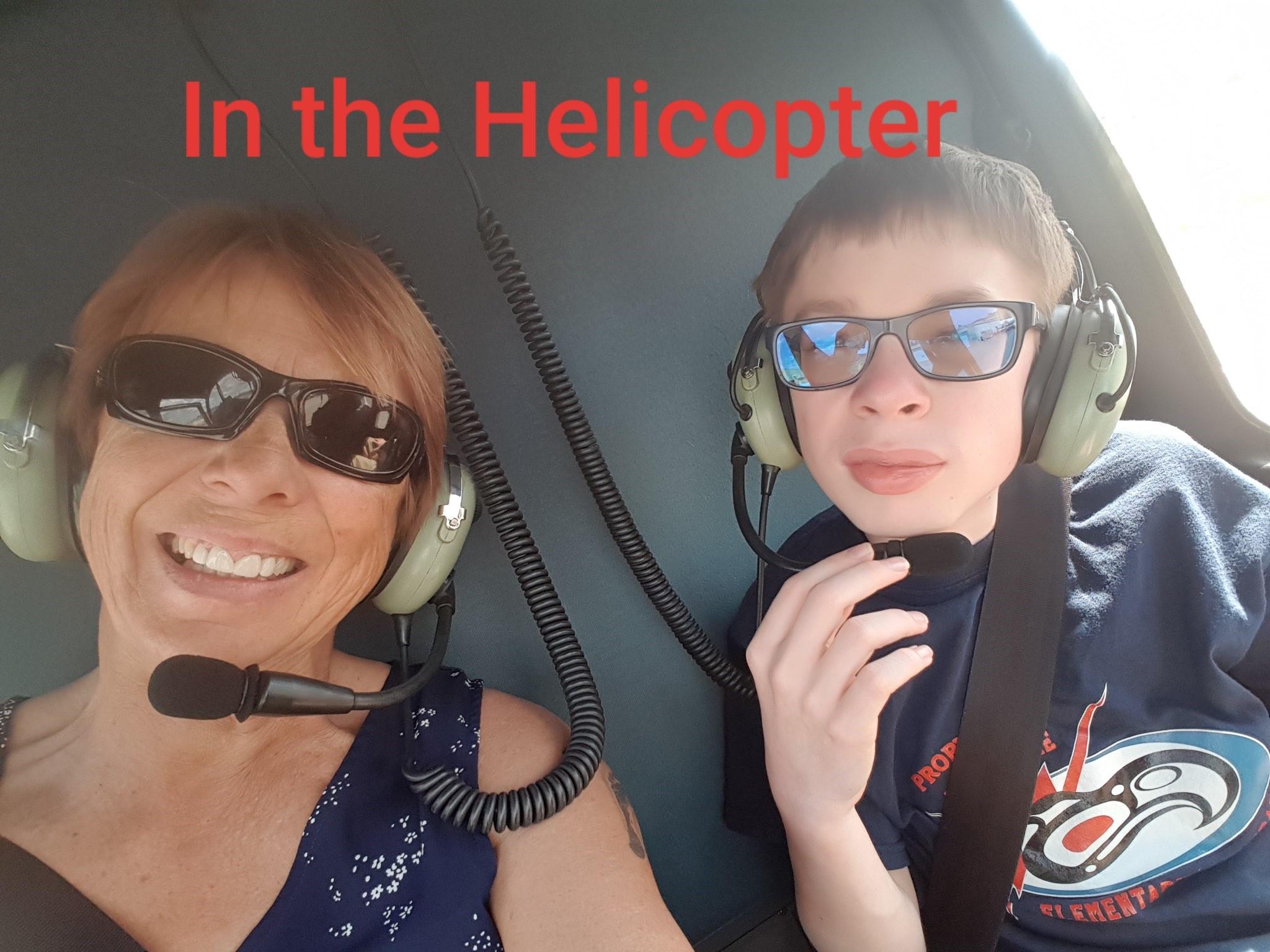 Hayden Harpe Flight Day