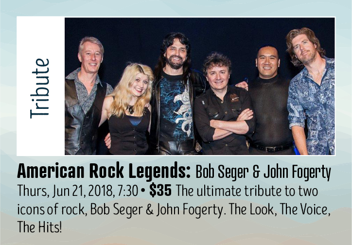 American Rock Legends - Tribute - Bob Seger and John Fogerty