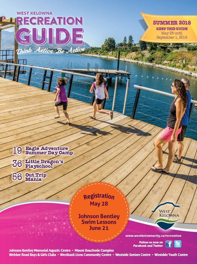 Recreation Guide Front Page