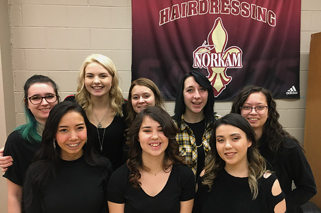 NorKam Hairdressing Students