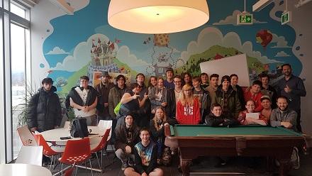 DigiPen Academy Tech Students