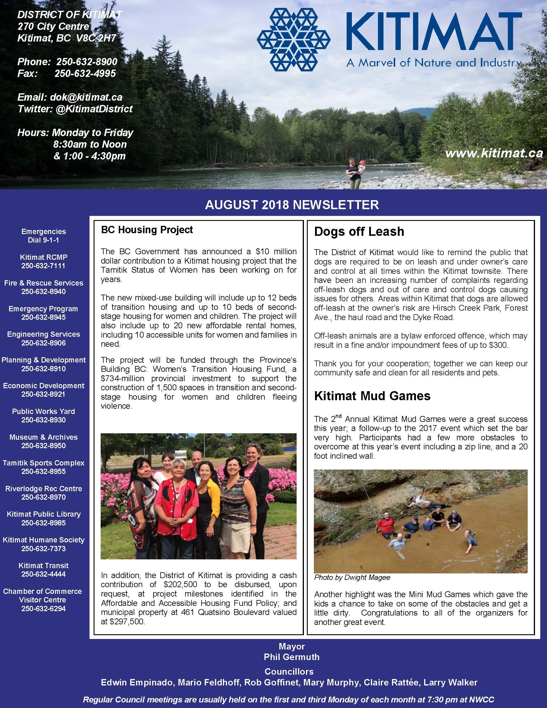 August 2018 Newsletter FINAL Pg1